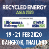 Recycled Asia 2020 ( 6th Biomass & Bioenergy Asia + Waste to Energy Asia )